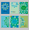 Notebook templates vector image