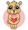 Beloved mascot vector image
