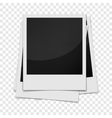 Photo frame realistic style vector image