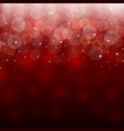 Light red holiday abstract background vector image vector image