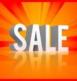 promo shopping template vector image