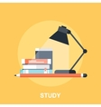 Home Work vector image