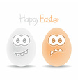 two eggs vector image