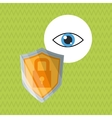 Security design Protection icon Colorful vector image