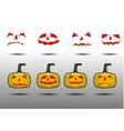 set helloween vector image