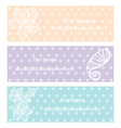 flower vintage and dot vector image vector image
