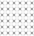 Delicate seamless pattern in arabic motif vector image