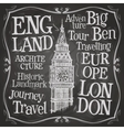 Big Ben logo design template London UK or vector image