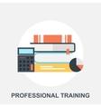 Professional Training vector image