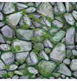 mossy stone seamless texture vector image vector image