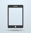 Icon of Tablet PC tablet computer vector image