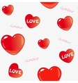 amor background vector image vector image
