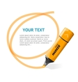 marker text box vector image
