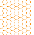 seamless background Backdrop Empty honeycomb vector image