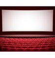 cinema theater background vector image