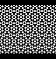 hexagonal geometric seamless pattern vector image