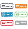 No limit sign icon Unlimited symbol vector image