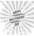 Happy Independence Day festive Ribbon vector image