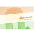 Indian Republic Day Background vector image