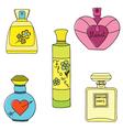 parfum paint vector image