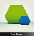 Abstract page template vector image vector image