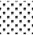 Stomatology pattern simple style vector image