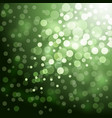Lights on green background vector image vector image