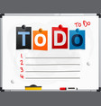 to do text made from newspaper letters vector image vector image