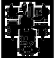 Architecture apartment plan vector image