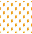 letter e from honey pattern vector image