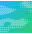 Linear background with green gradient vector image