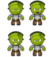 Monster Unhappy vector image vector image