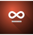 Abstract infinity symbol vector image