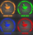 healthy food concept icon Fashionable modern style vector image