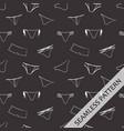 seamless pattern c underwear chalk on a blackboard vector image