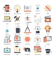 Creative Process icons vector image