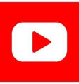 Play button sign vector image