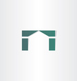 house home simple icon design vector image