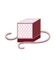 Perfume box vector image