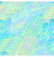 Seamless blue vintage hand drawn pattern vector image
