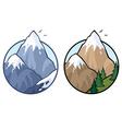 mountain vector image vector image