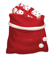 bag gifts vector image