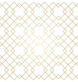 Golden Lines Seamless Pattern vector image