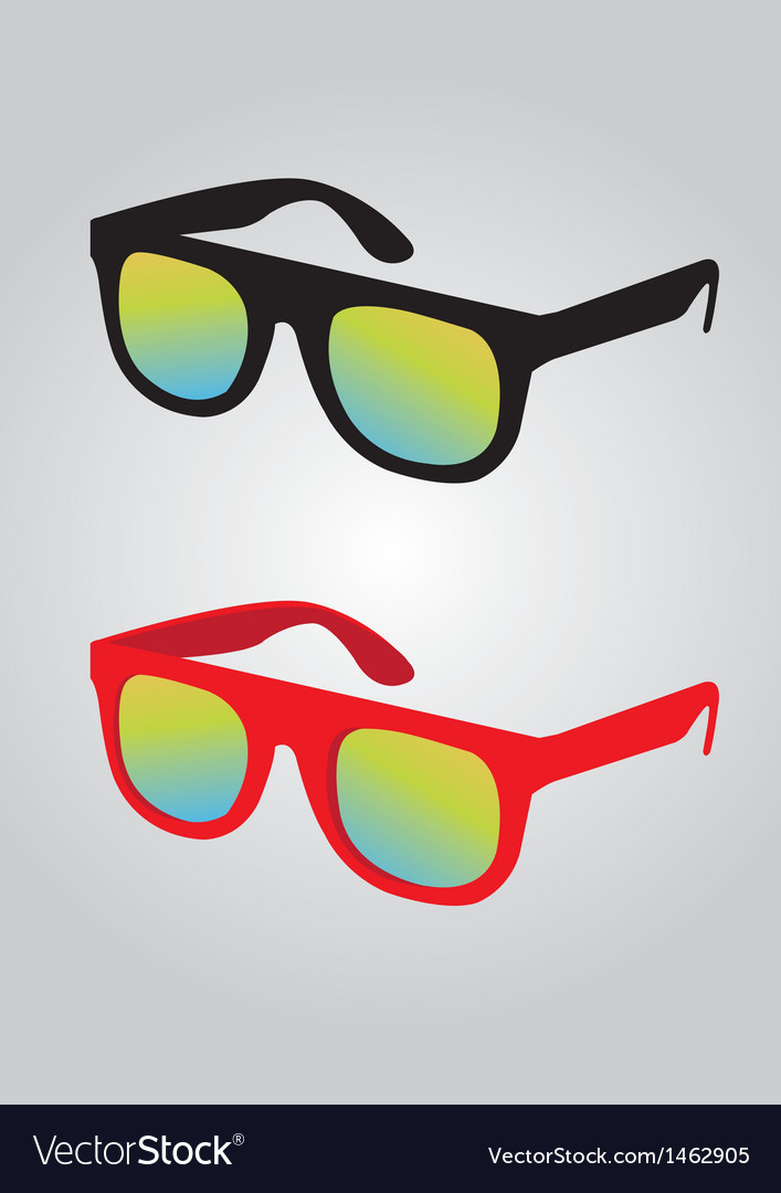 Sunglass vector