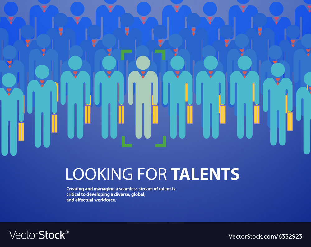 People design over blue background vector