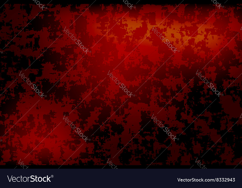 Grunge orange background vector