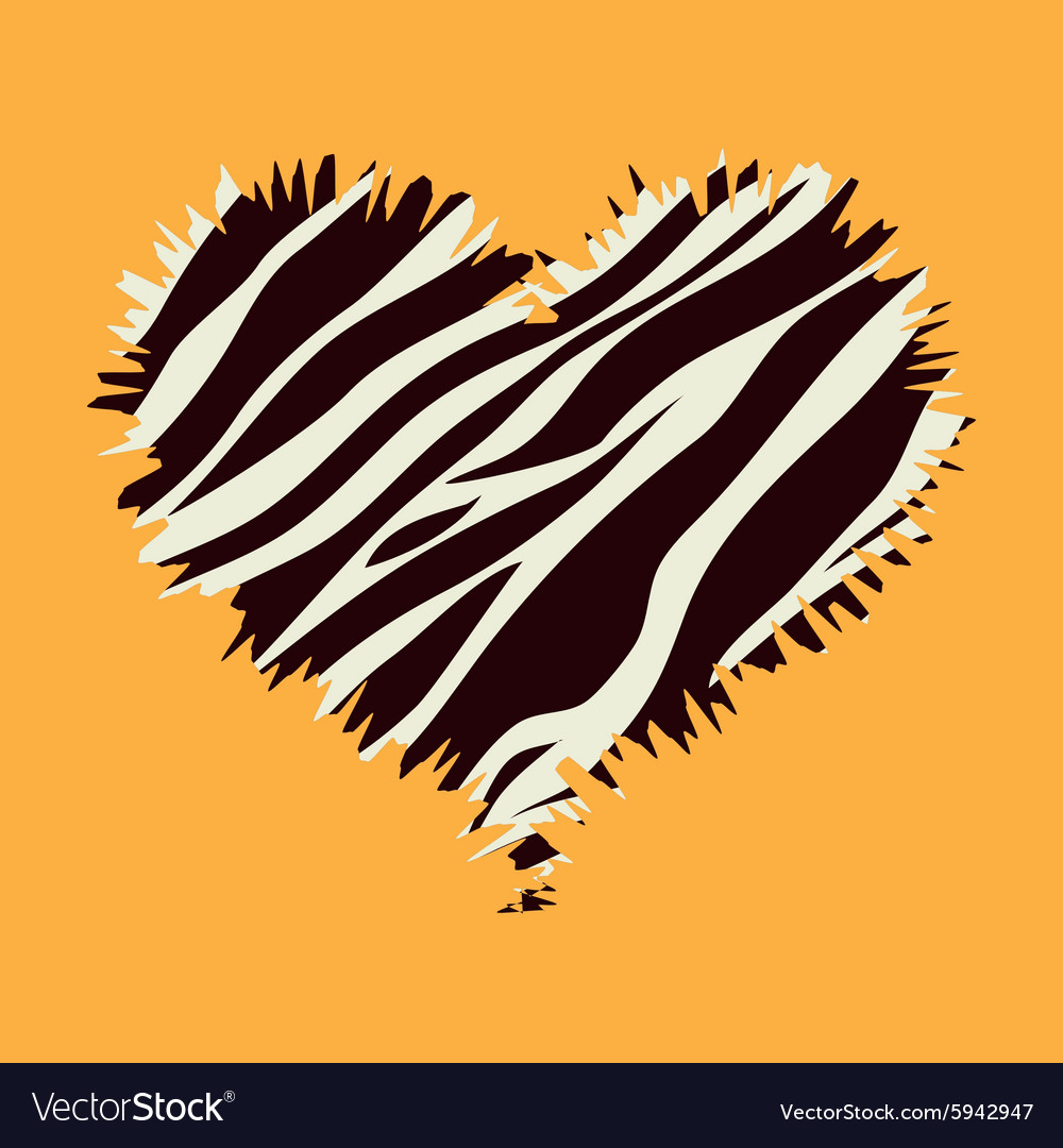 Animal prints design vector