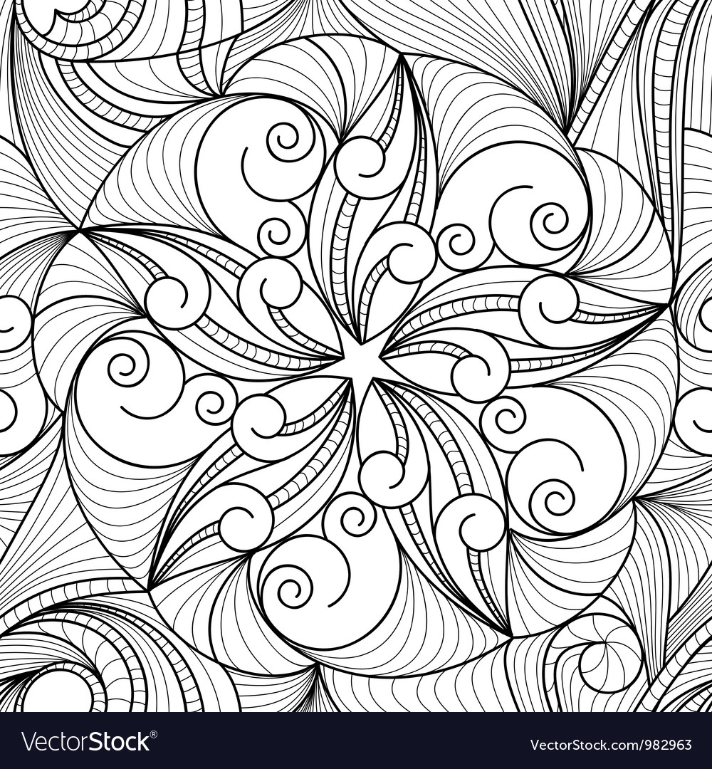 Drawing pattern vector