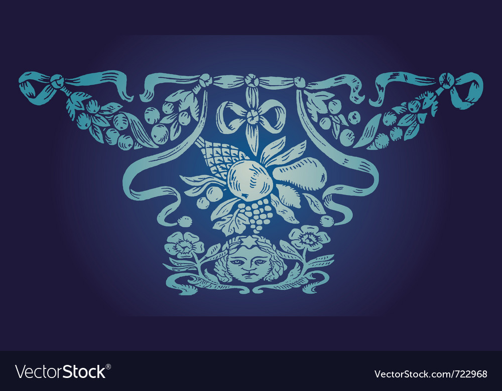 Ilustration design set and deco vector