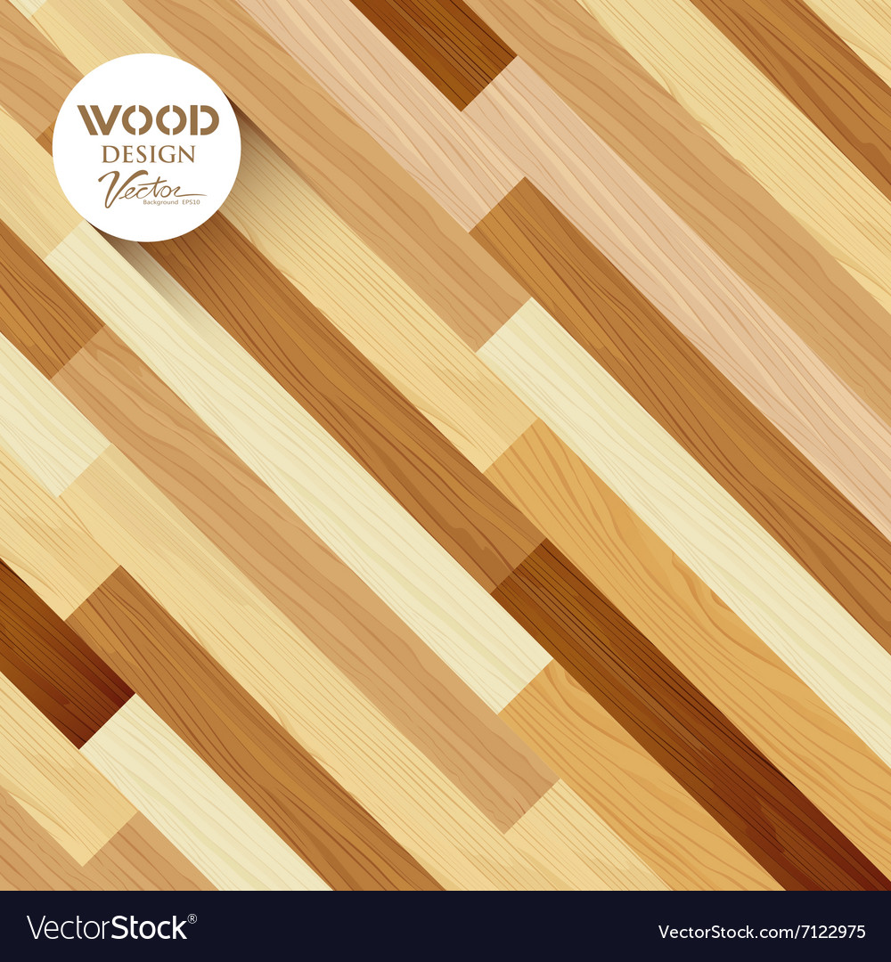 Wood floor colored striped oblique concept vector